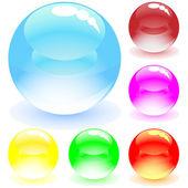 Balls — Stock Vector
