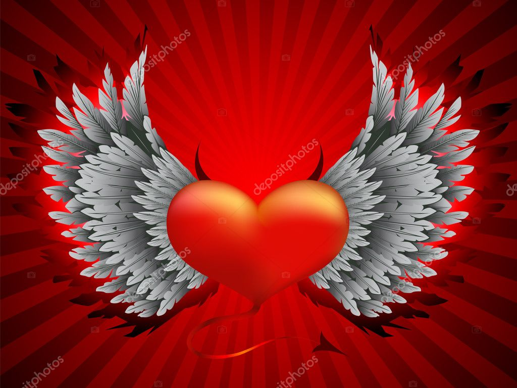 BAD HEART  Stock Vector #1942494
