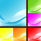 Wave background — Stock Vector
