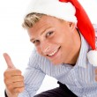American male with thumbs up — Stock Photo #1346767