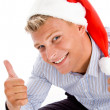 American male with thumbs up — Stock Photo