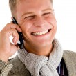 Man on phone call — Stock Photo
