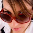 Close up of fashionable young woman — Stock Photo #1349348