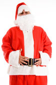 Santa clause with his hands on waist — Stock Photo