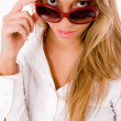 Royalty-Free Stock Photo: Beautiful female wearing sunglasses
