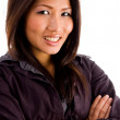 Young asian professional with folded arm — Stock Photo #1350798