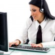 Gorgeous beauty at work — Stock Photo #1351005