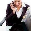 Executive busy with phone call — Stock Photo #1351119