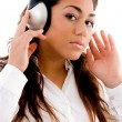 Young woman enjoying music — Stock Photo #1351508