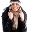 Gorgeous woman in winter outfit — Stock Photo #1351714