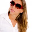 Young woman wearing sunglasses — Stock Photo #1352181