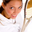 Royalty-Free Stock Photo: Young female tennis player
