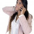 Woman talking on mobile phone — Stock Photo #1352714
