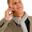 Professional person busy on phone call — Stock Photo #1353720