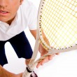 Young tennis player — Stock Photo #1357022