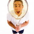 Young tennis player — Stock Photo #1357027