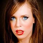 Close up of beautiful woman — Stock Photo #1357921