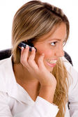 Side view of service provider — Stock Photo