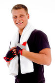 Fit young man posing — Stock Photo