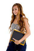 Pretty young student with books — Stock Photo