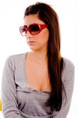 Young woman wearing sunglasses — Stock Photo