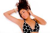 Sensuous female in bikini — Stock Photo
