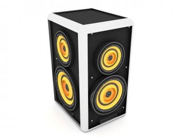 Three dimensional sound box