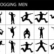 Fit young men — Stok fotoğraf
