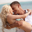 Playful couple making love — Stock Photo #1365754