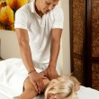 Stock Photo: Spmassage
