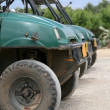 Quad bikes in queue — Stock Photo #1368569