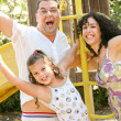Family portrait having fun — Stock Photo #1369253
