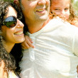 Close-up of jolly family — Stockfoto #1369358