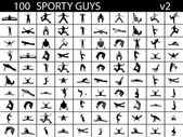 Sport persons — Stock Photo