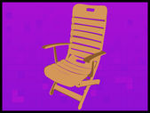 Relaxing chair — Stock Photo