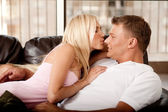 Sexy couple in love — Stock Photo