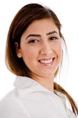 Portrait of smiling executive — Stock Photo