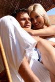 Par att älska — Stockfoto