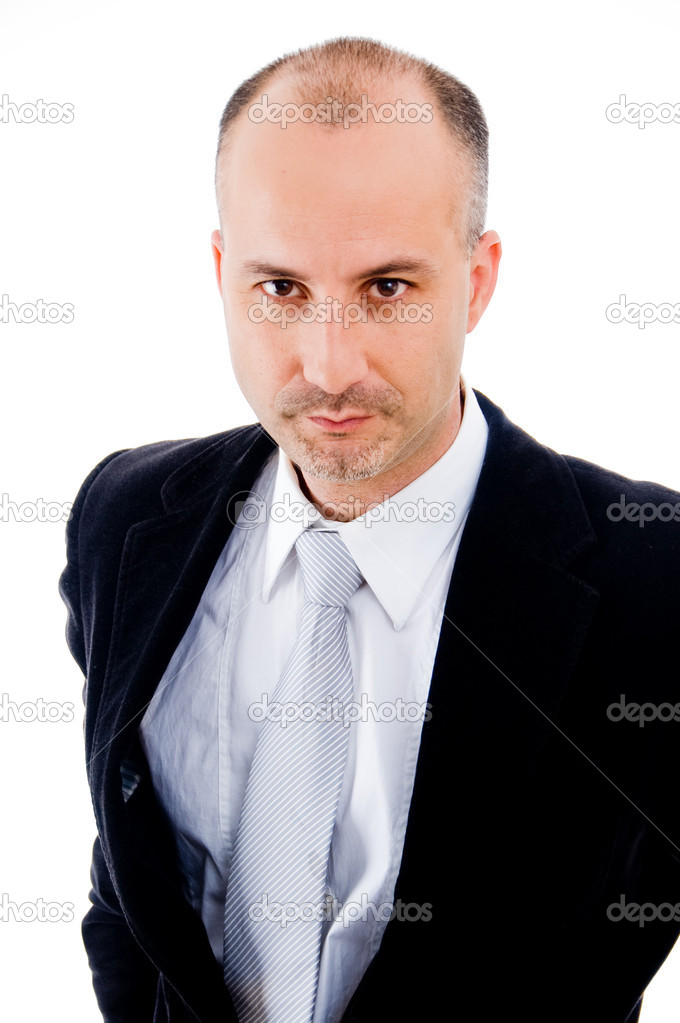 Close-up of businessperson staring — Stock Photo #1366561
