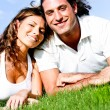 Affectionate couple relaxing — Stock Photo #1370384