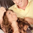 Happy young couple relaxing — Stock Photo #1370420