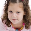 Portrait of cute little girl — Stock Photo