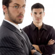 Royalty-Free Stock Photo: Successful young executives posing