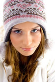 Close up of attractive female — Stock Photo