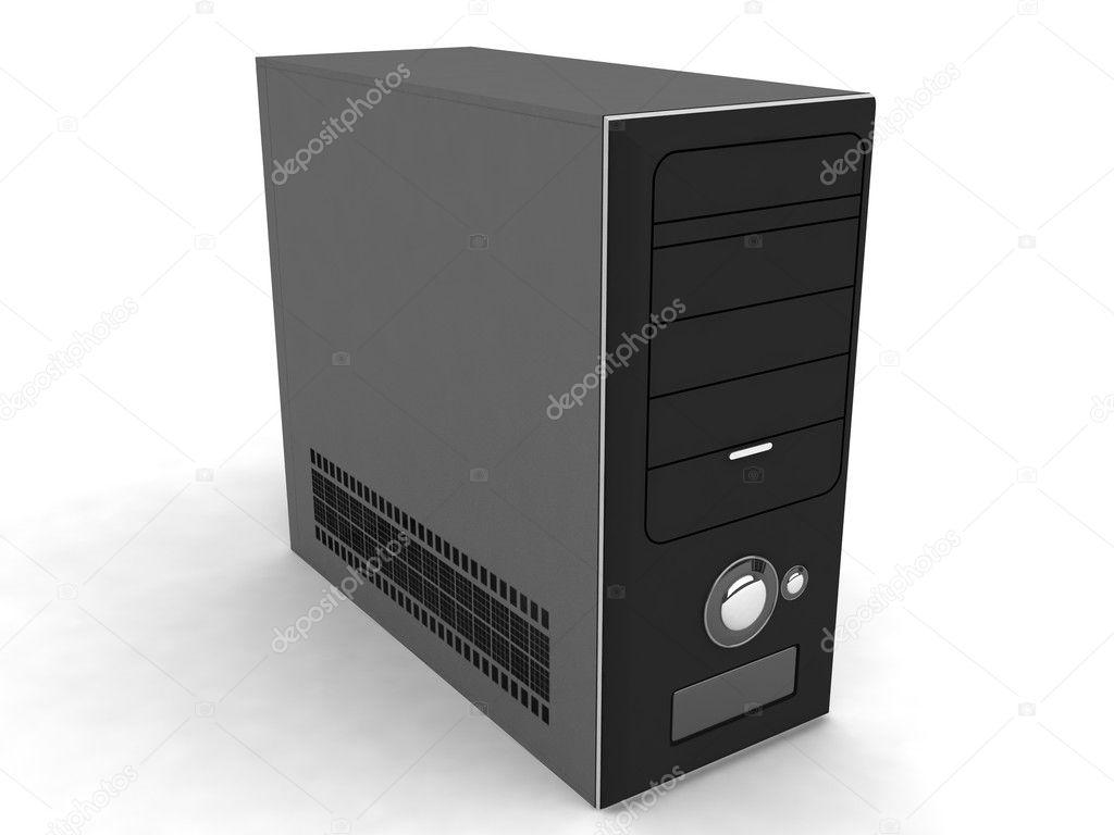 3d black cpu — Stock Photo © imagerymajestic #1662795