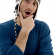 Surprised male looking at camera — Stock Photo #1670028