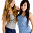 Young pretty girls looking at camera — Stock Photo #1672606