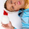 Young guy making wierd faces — Stock Photo #1675115