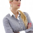 Portrait of corporate business lady - Stock Photo