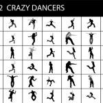 Постер, плакат: Dancing silhouette